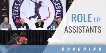 The Role of Assistant Coaches with the 2019 State Champion Coaches Panel