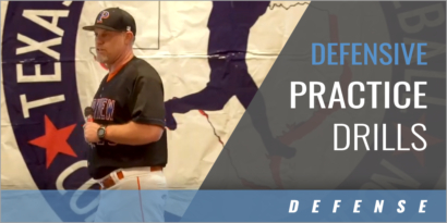 Defensive Practice Drills with Chan Brown - Parkview HS (GA)