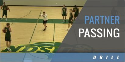 Partner Passing Drill