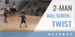 2-Man Ball Screen - Twist