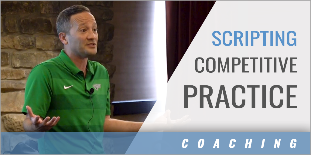Scripting Competitive Practice Drills with Players