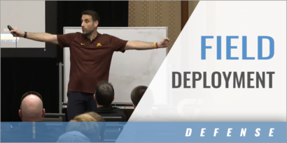Defensive Field Deployment and Responsibilities