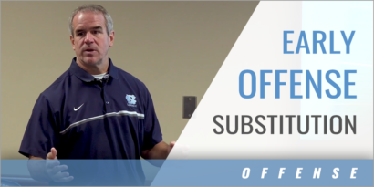 Early Offense Substitution