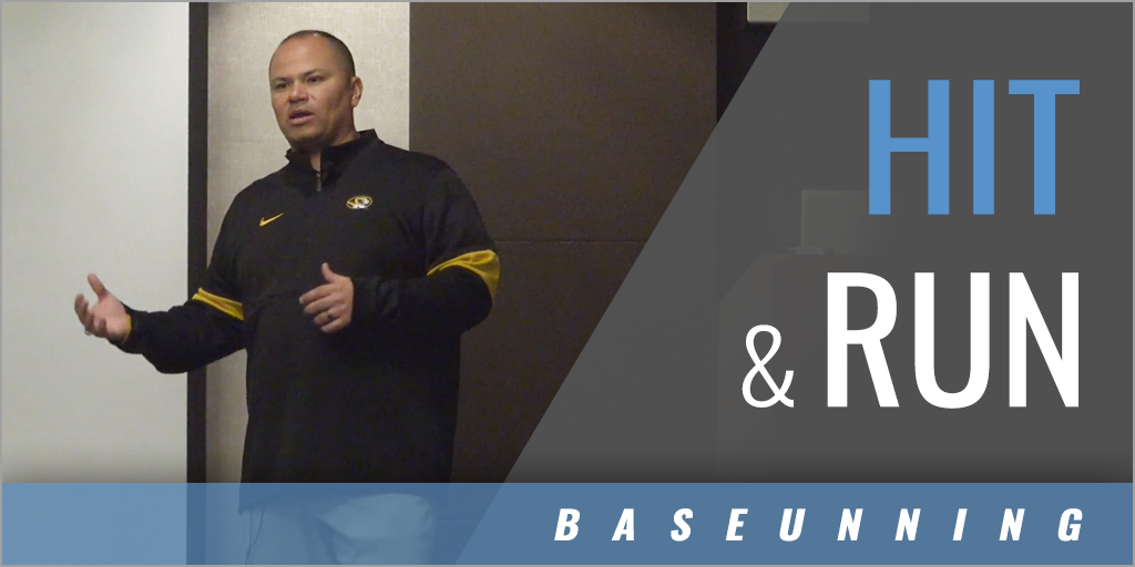 Hit and Run Roles for a Baserunner and Hitter