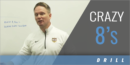 Crazy 8's Drill with Marcus Wood – Hardin-Simmons Univ.