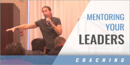 Mentoring Your Leaders in Practice Sessions