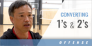 Converting 1's and 2's, Not Only 3's with Vinh Nguyen – Univ. of Hartford
