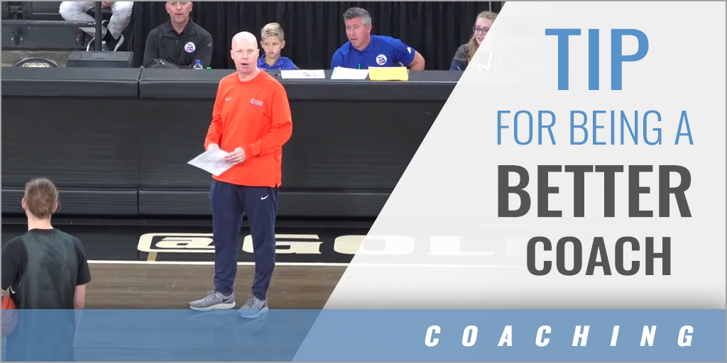 Tip for Being a Better Coach
