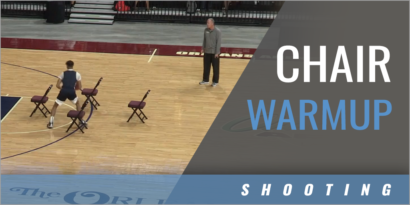 Chair Warmup Drill