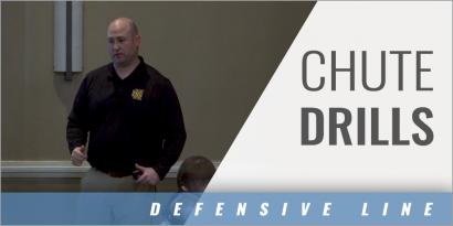 Defensive Line Chute Drills