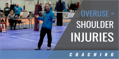 Overuse Leads to Shoulder Injuries