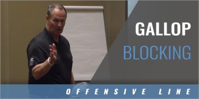 O-Line Gallop Blocking Technique