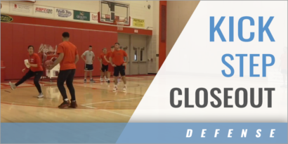 Kick Step Closeout Drill