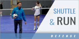 Shuttle and Run Defensive Drill