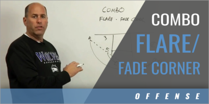 Combo Flare/Fade Corner Shooting Drill