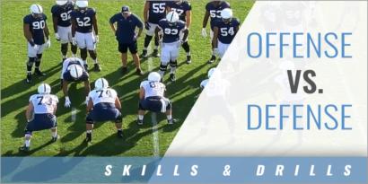 Offense vs. Defense Drills