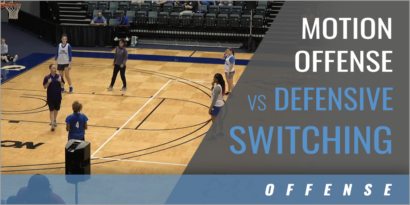 Motion Offense vs Defensive Switching