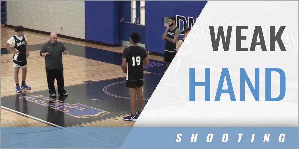 Weak Hand Shooting Drills