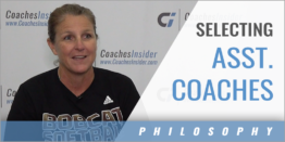 Selecting an Assistant Coach