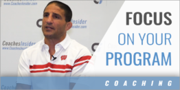 """No Excuses"" Focus on Your Program"