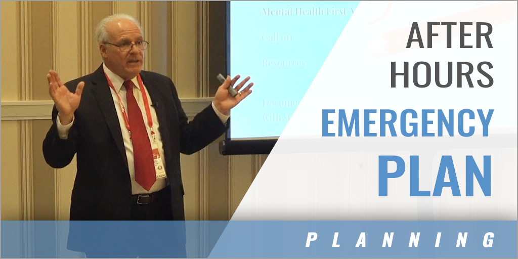 After Hours Emergency Plan with Michael Gulino - Sleepy Hollow HS (NY)