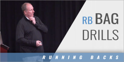 Running Back Bag Drills with David White - Blue Springs HS (MO)