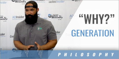 "How the ""Why?"" Generation Is Making Coaches Better with Stephen Mackey"