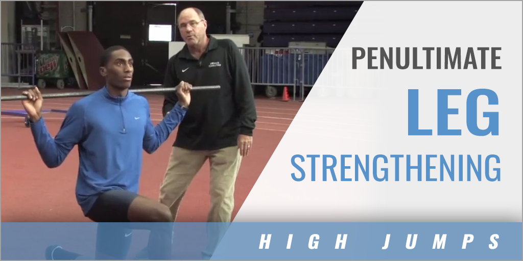 Penultimate Leg Strengthening High Jump Drill