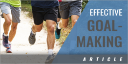 Evidence-Based Training: Your Goal Dictates Your Behavior