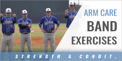 Pitcher's Arm Care Band Exercises