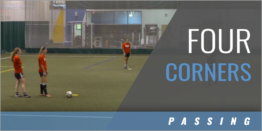 Central Midfielder Four Corners Drill