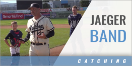 Using a Jaeger Band to Control a Catcher's Shoulder Movement