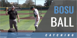 Catching: Bosu Ball Muscle Activation Warmups