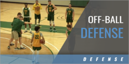 Off-Ball Defense