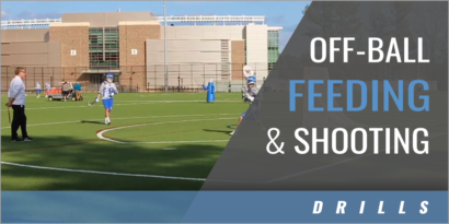 Off-Ball Feeding and Shooting Drills