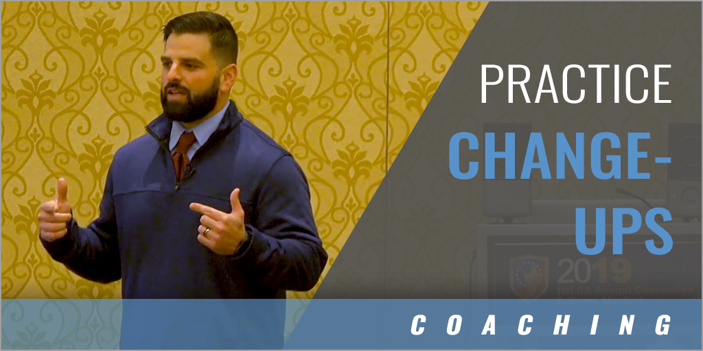 Practice Change-Ups