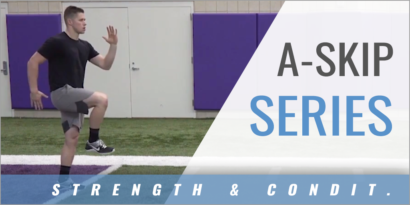 Speed and Agility: A-Skip Series