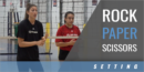 Rock, Paper, Scissors Drill with Felipe Coronel – Houston Juniors and Lauren Carlini – USA National Team