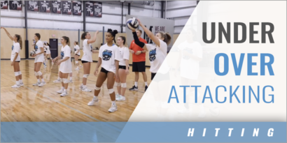 Under Over Attacking Drill