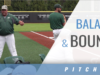 Balance and Bounce Pitching Drill with Shohn Doty – UNC Charlotte
