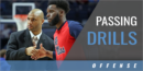 Passing Drills with Ronnie Hamilton – Univ. of Mississippi