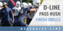 D-Line Pass Rush Finish Drills with Dennis Dottin-Carter – UCONN