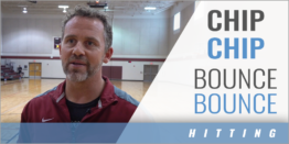 Chip-Chip-Bounce-Bounce Competitive 6-on-6 Drill