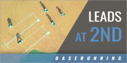 Baserunning: Leads at 2nd Base