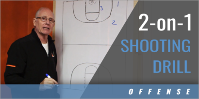 2-on-1 Shooting Drill