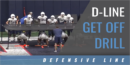 D-Line Get Off Drill with Dennis Dottin-Carter – UCONN