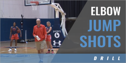 Elbow Shooting Drill