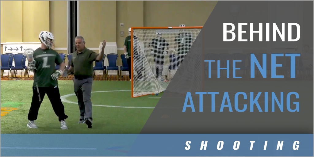 Behind the Net Attacking Progression from X