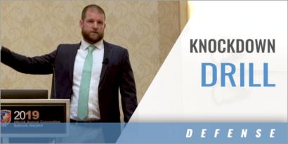Knockdown Defensive Drill