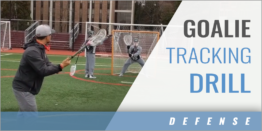 Goalie Tracking Drill